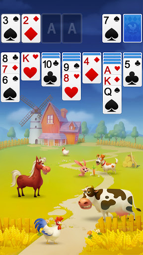 Solitaire - My Farm Friends 1.0.2 screenshots 2