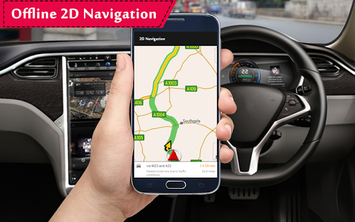 GPS Offline Navigation Route Maps & Direction 1.3.1 Screenshots 1