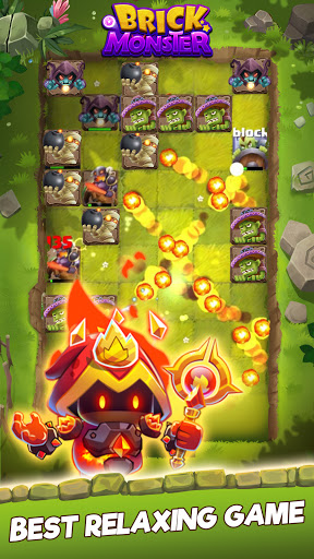 Brick Monster: Epic Casual Magic Balls Blast Game modiapk screenshots 1