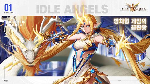 IDLE ANGELS : uc5ecuc2e0uc804uc7c1 apkpoly screenshots 9