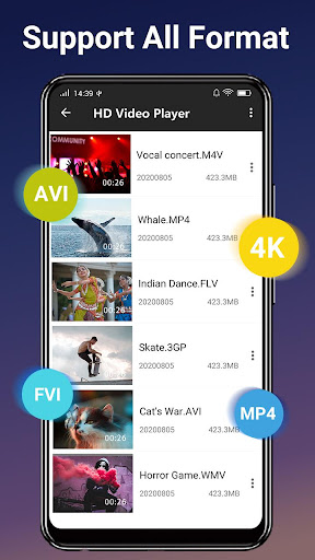 Video  Player - All Format HD Video  Player  screenshots 3