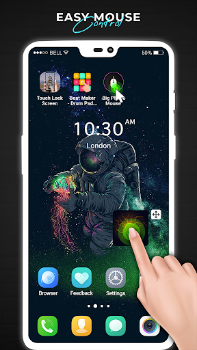 Foto do Big Phone Mouse - One Hand Operation Mouse Pointer