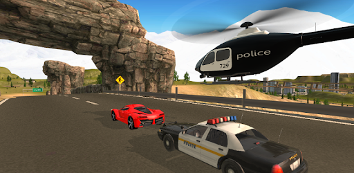 Screenshot of Police Helicopter Flying Simulator