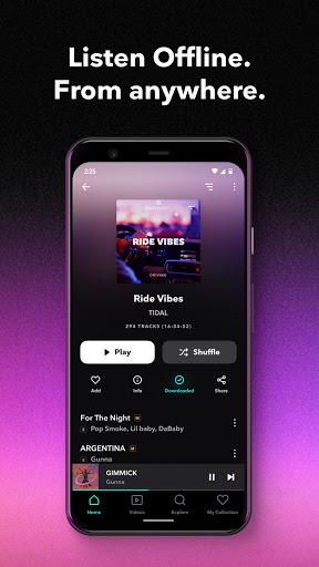 TIDAL Music - Hifi Songs, Playlists, & Videos 2.37.0 Screenshots 3
