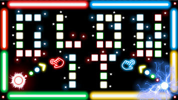GlowIT: Games for Two Players
