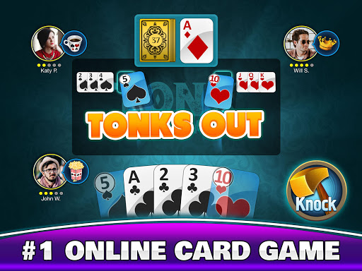 Tonk Multiplayer - Online Gin Rummy Free Variation modavailable screenshots 17