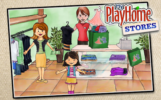 My PlayHome Stores  screen 1