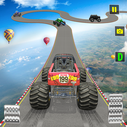 Ramp Monster Truck Stunts:New Racing Games