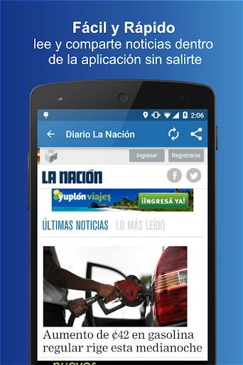Diarios Costa Rica 1.0 screenshots 3