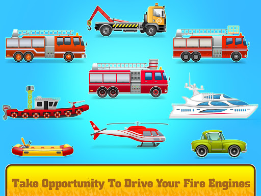 Firefighter: Fire Rescue And Car Wash Garage apklade screenshots 2