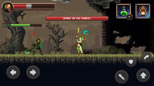 Mortal Crusade: Platformer with Knight Adventure Knight Adventure screenshots 7