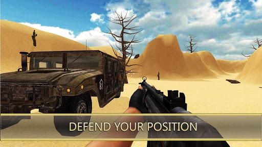 Desert Hawks: Soldier War Game Apkfinish screenshots 3