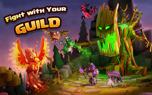 Dungeon Boss Heroes - Fantasy Strategy RPG  screenshots 12
