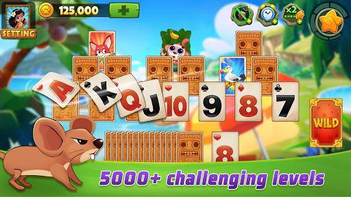 Solitaire TriPeaks Adventure - Free Card Game 2.3.9 screenshots 1