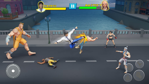 Beat Em Up Fighting Games: Kung Fu Karate Game 3.5 screenshots 2