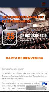 XV Congreso Andaluz de Veterinarios 1.0.4 screenshots 1