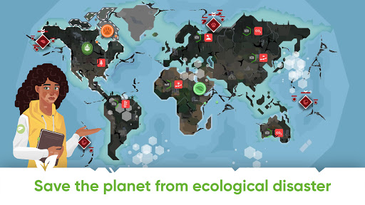Save Earth.Offline ecology strategy learning game 1.2.019 screenshots 4