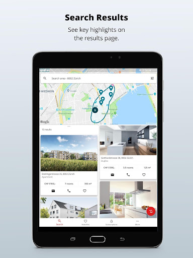 homegate.ch - apartments to rent and houses to buy 10.4.1 Screenshots 6