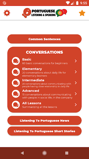 Download APK: Learn Portuguese – Listening and Speaking v6.2.1 [Pro]