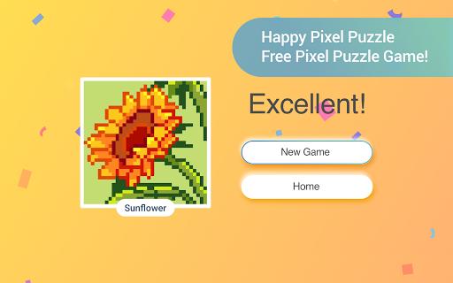 Happy Pixel Puzzle: Free Fun Coloring Logic Game screenshots 16