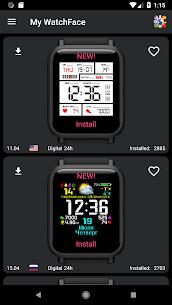 My WatchFace for Amazfit Bip 1