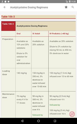 Tintinalli's Emergency Medicine Manual App  Screenshots 17