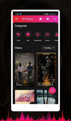 New Video Status 2021 & Short Video - X Status android2mod screenshots 1