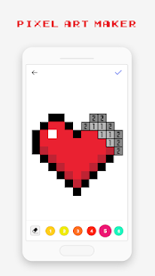 Pixel Art Book - Color by Number Free Games 1.9.9 Screenshots 7