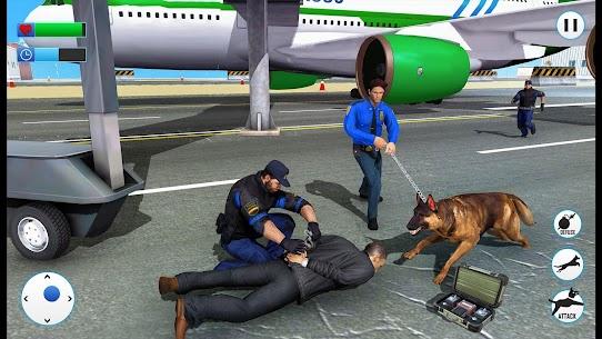 US Police Dog 2019: Airport Crime Shooting Game 2