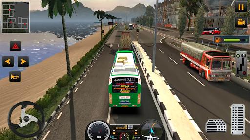 Modern Heavy Bus Coach: Public Transport Free Game 0.1 screenshots 8