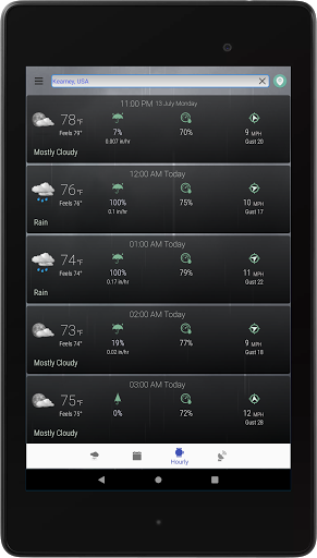 Hyperlocal Weather (Dark Sky Powered by) & Radar screenshots 12