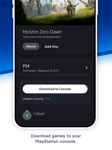 PlayStation App screenshots 11