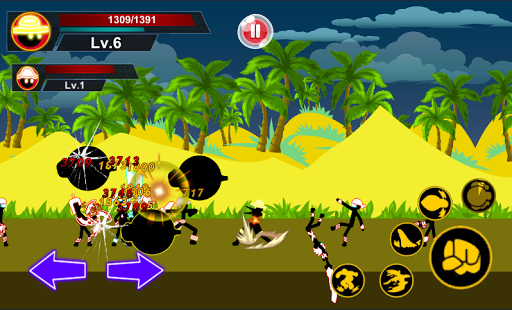 Stickman Hero - Pirate Fight Screenshot