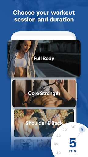 Abs, Core & Back Workout at Home screenshots 2