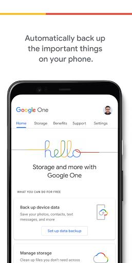 Google One 1.81.345513717 Screenshots 1
