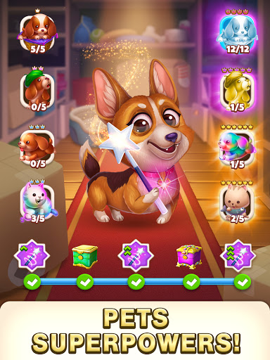 Solitaire Pets Adventure - Free Solitaire Fun Game  screenshots 12