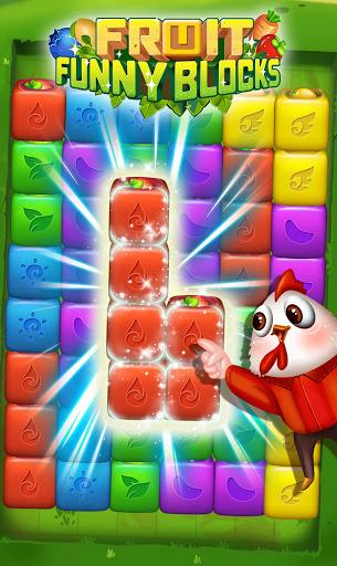 Fruit Funny Blocks  screenshots 1