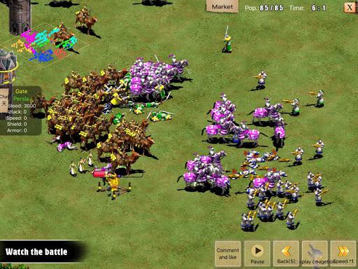 War of Empire Conquestuff1a3v3 Arena Game android2mod screenshots 19