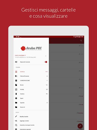 Aruba PEC Mobile apktram screenshots 7