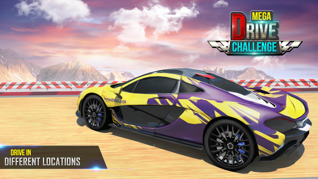 Mega Ramp Car Stunts Racing 2 screenshot 6