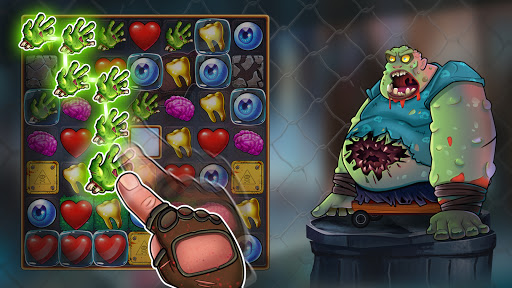 Zombie Blast - Match 3 Puzzle RPG Game 2.5.1 screenshots 8