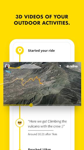 Relive: Run, Ride, Hike & more Apkfinish screenshots 1