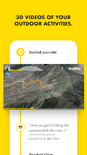 Relive: Run, Ride, Hike & more Screenshot