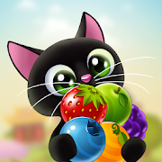 Fruity Cat - bubble shooter!