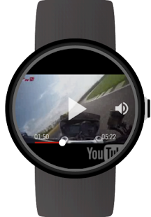 Video Player for YouTube on Wear OS smartwatches Capture d'écran
