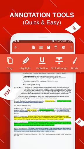 PDF Reader for Android apktram screenshots 3