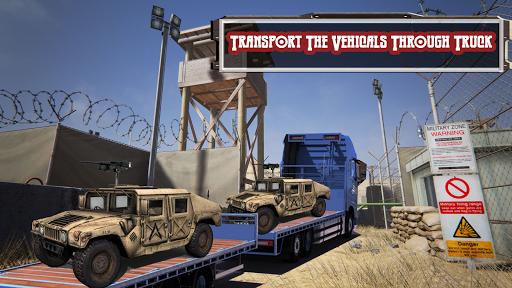 army transport truck driver 3d screenshot 2