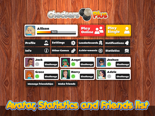 Checkers Plus - Board Social Games apkmr screenshots 10