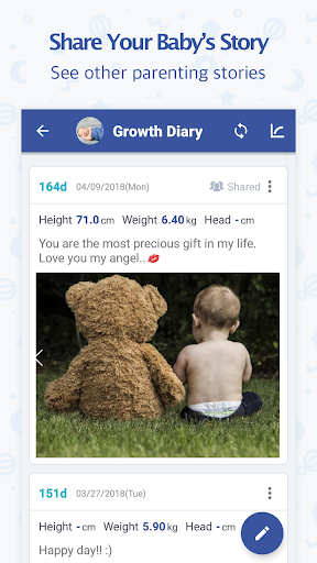 BabyTime (Parenting, Track & Analysis) 3.12.7 Screenshots 4