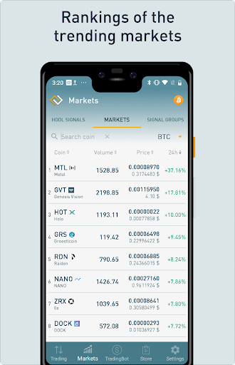 ProfitTrading For Binance - Trade much faster android2mod screenshots 6